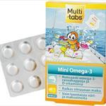 Multi-Tabs Mini Поливитамины с фруктовыми вкусами, 30 жевательных таблеток