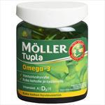 Möller Tupla Omega-3, 100 капсул