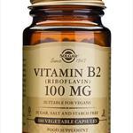 Solgar Vitamin B2 100 mg