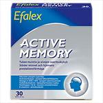 EFALEX ACTIVE MEMORY Для стимуляции и поддержания  мозговой активности 30 капсул