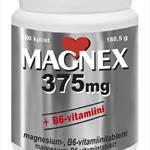 Magnex 375 mg+B6-vitamin 180 tabl.